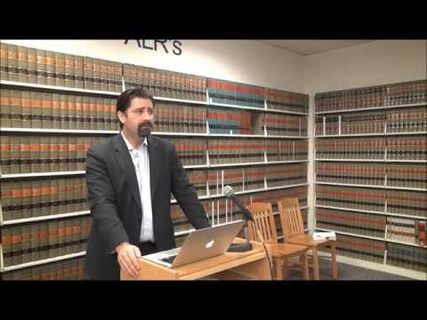 UNLV Law Professor Ian Bartrum on Miranda - Law Day 2016 Presentation No. 1