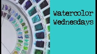 Watercolor Wednesdays Mini Seascapes