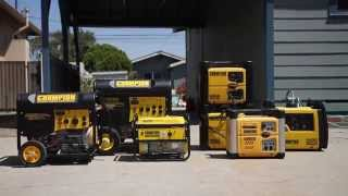 Traditional Generator vs. Inverter Generator