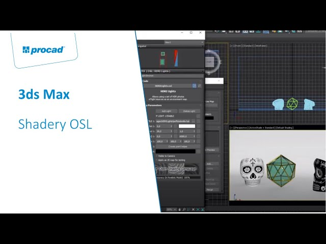 Shadery OSL w programie 3ds Max