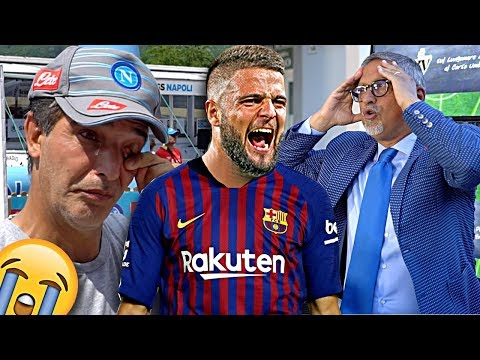 UFFICIALE: INSIGNE al BARCELLONA!!! [*PRANK* ai TIFOSI NAPOLETANI] con CARLO ALVINO!