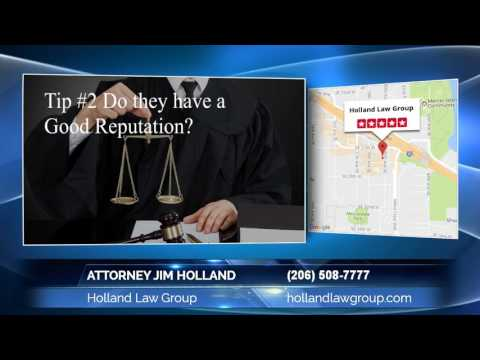 Attorney Jim Holland Of Holland Law Group  Superb Suggestions On Finding A Personal Injury Attorney