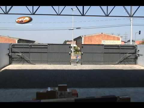 Mcr seguridad automatizacion de puertas youtube - Automatizacion de puertas ...