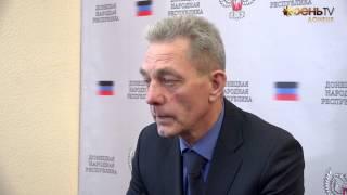 Министр здравоохранения ДНР Андрей Пруцких