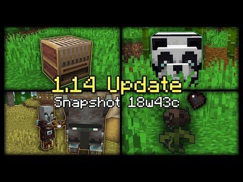 20 Cập nhật mới trong phiên bản minecraft 1.14 (snapshot 18w43c)