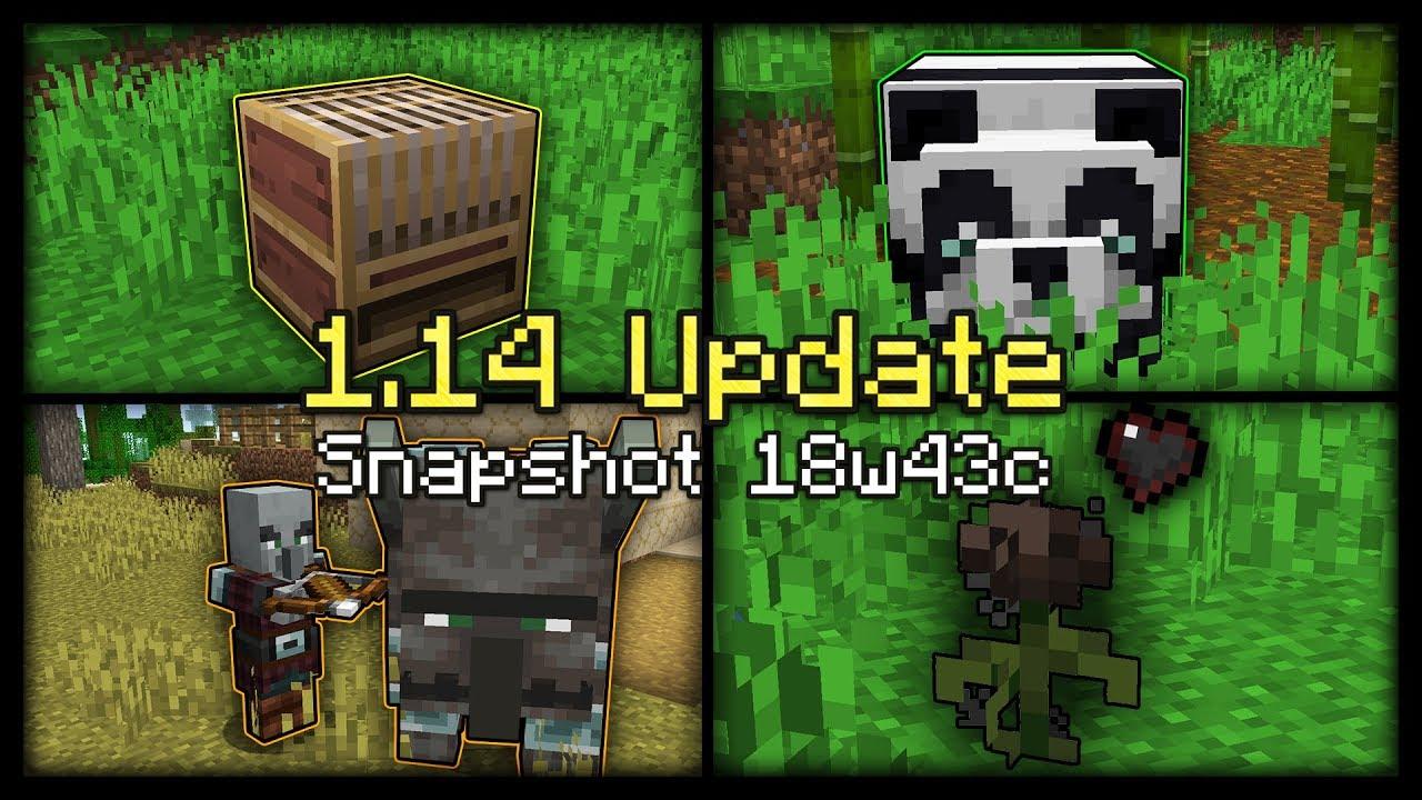 Các cập nhật mới trong phiên bản minecraft 1.14 – Phần 1