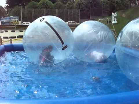 Piscina balones piscina para balones para agua youtube - Hinchables de agua para piscinas ...
