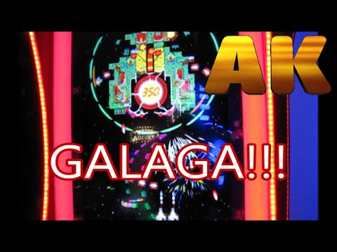 PLAYING THE NEW GALAGA ASSAULT ARCADE TICKET GAME  YouTube