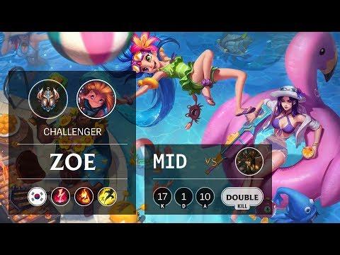 Zoe Mid vs