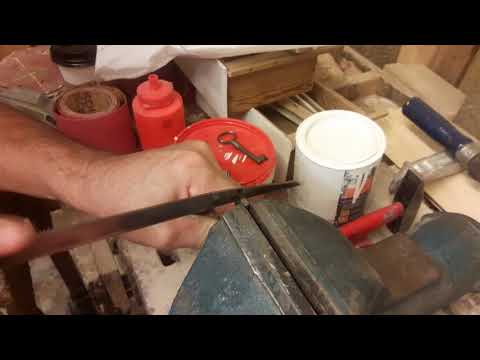 Making a new Skeleton Key - Clemmons House Antique Berlin