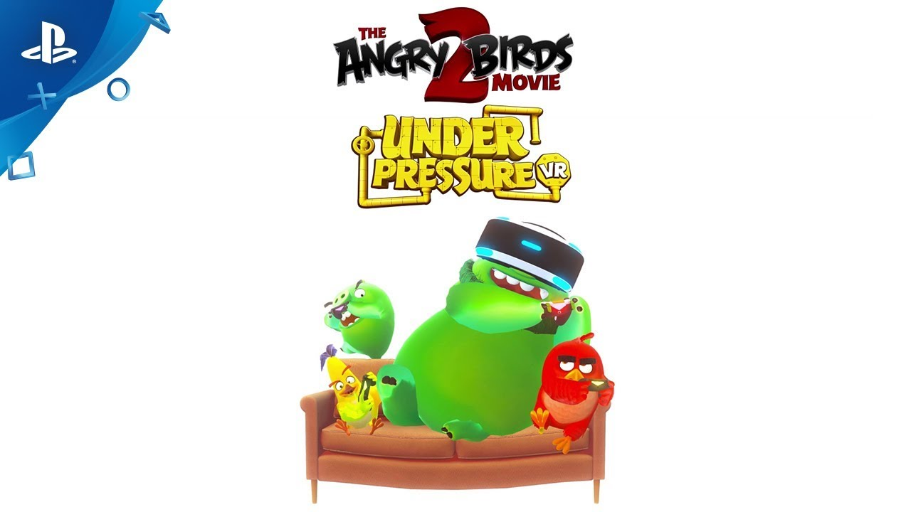 The Angry Birds Movie 2 Under Pressure Vr Game Trailer Psvr Youtube