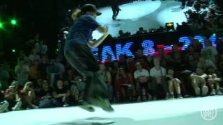 Eri QUEEN OF QUEENS (Japan) vs Paulina BREAKNUTS (Poland): Outbreak 8 Bgirl Semifinal