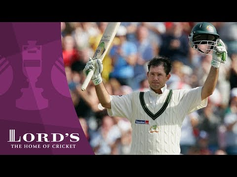 Ricky Ponting discusses his 156 at Old Trafford - 2005 Ashes Rewind