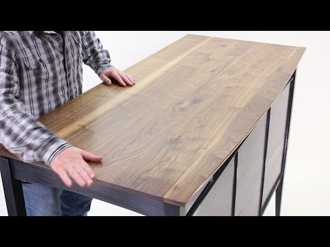 Wood Finishing How-To: Hand-Rubbed Tung Oil Varnish on Walnut