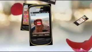 Domo-kun Theme for Samsung Corby 2 II s3850 Free Download-Choozhang