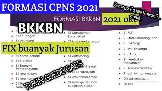 Formasi Cpns BKKBN 2021