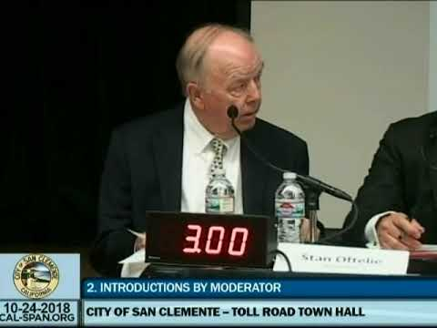 Toll Road Extension Information | City of San Clemente, CA