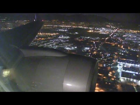Delta Airlines B757 Landing Salt Lake City
