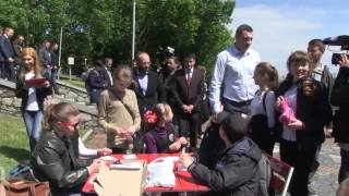 Кличко посетил выставку цветов «Украина Европейская»