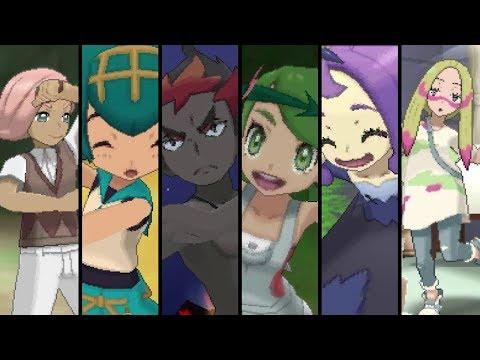 Pokemon Ultra Sun and Ultra Moon -  All Island Trials (Totem Pokemon)
