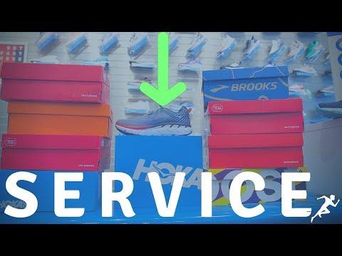 Running Shoe Store Customer Service | Shoe Store Shoutouts: ______