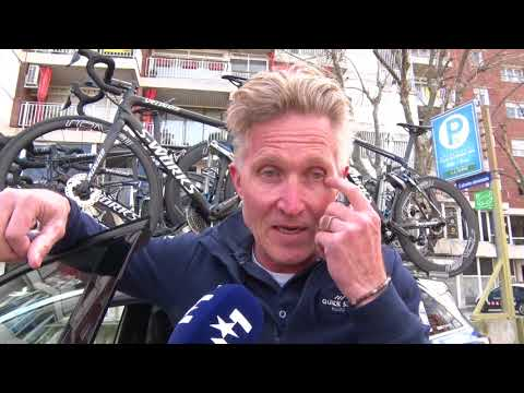 Brian Holm - interview at the start - Stage 2 - Volta a Catalunya 2018