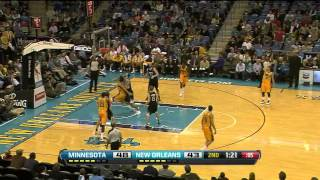 Austin Rivers 27 points (career high) vs Minnesota Timberwolves full highlights 12/14/2012 HD