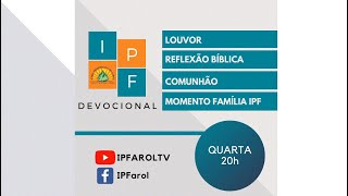 Devocional Quarta 21/09/20 - Rev. Philippe Almeida