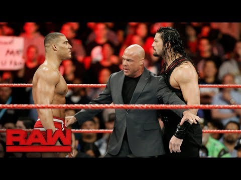 Jason Jordan challenges Roman Reigns: Raw, Dec. 4, 2017 thumbnail