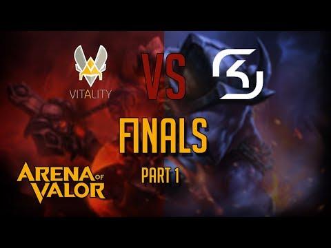 Go4 Team Vitality vs SK Gaming 1/3 | Arena of Valor