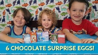 UNBOXING CHOCOLATE SURPRISE EGGS! Starwars, Angry Birds, Avengers, Mosters, Frozen!
