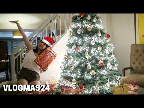 VLOGMAS 24: Christmas Eve + Opening of Christmas presents! | Ann V