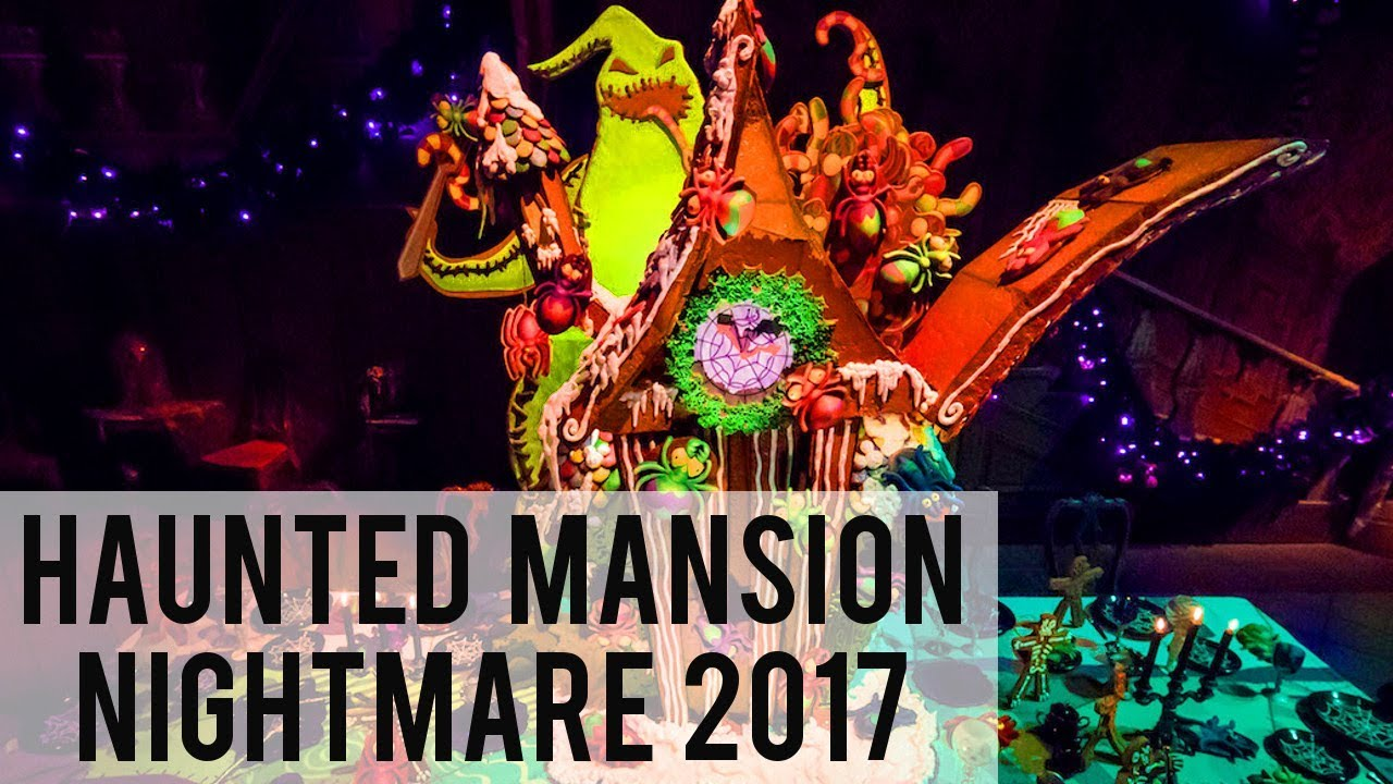 haunted mansion nightmare before christmas 2017 full ride pov - Haunted Mansion Nightmare Before Christmas