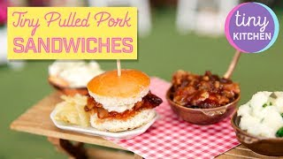 Tiny Pulled Pork Sandwiches | Tiny Kitchen