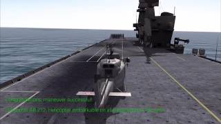 Marina Militare Italian Navy Sim - Helicopter Operations