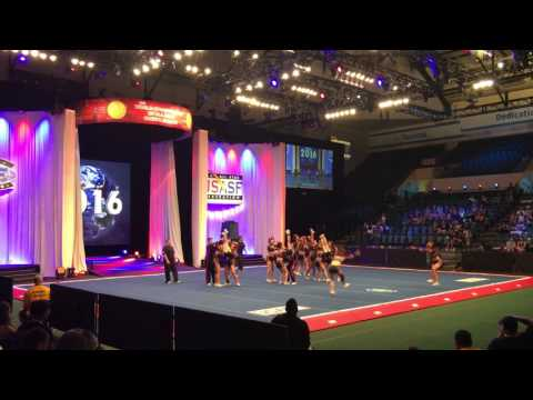 Tribe Cheer Chiefs Worlds 2016 Day1