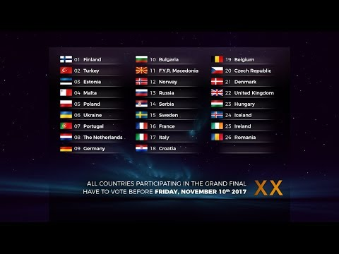 European Music Contest #30 Reykjavik - Grand Final