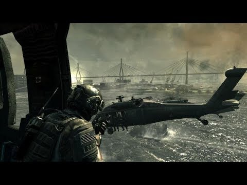 EPIC BEACH ASSAULT in Online FPS Game Call of Duty Modern Warfare 3 |