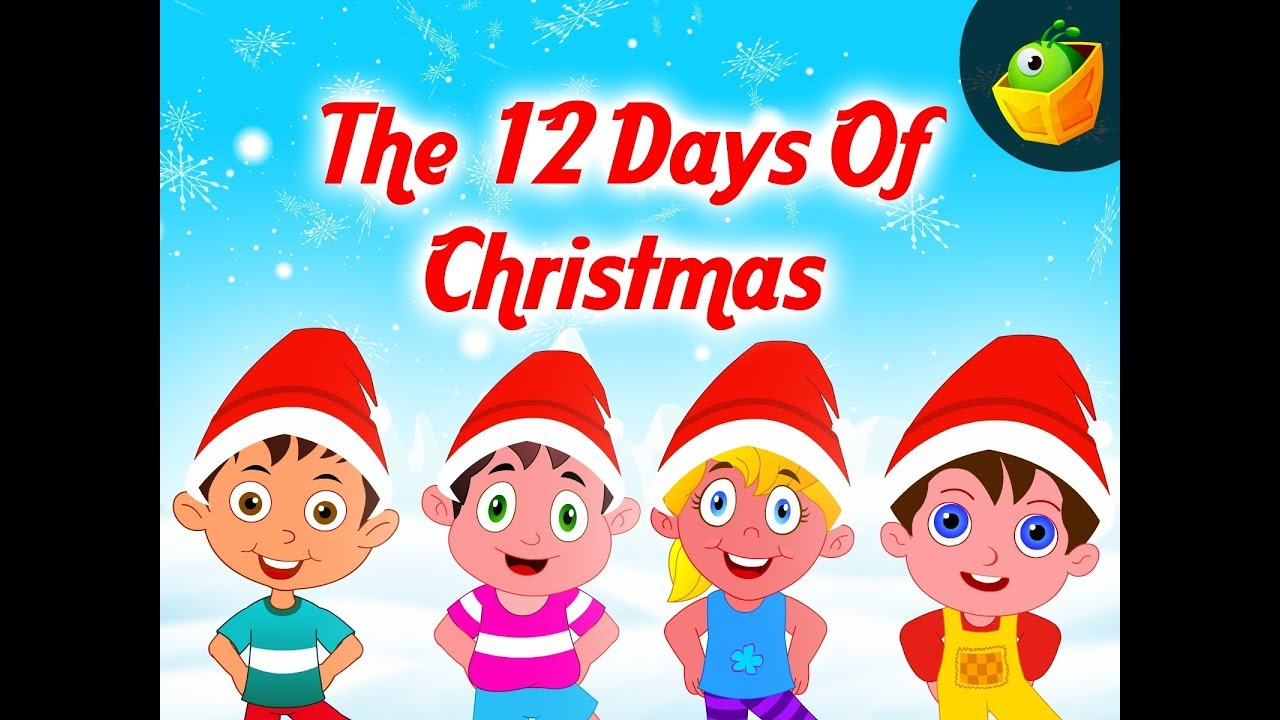 twelve days christmas animation songs magicbox animation [ 1280 x 720 Pixel ]