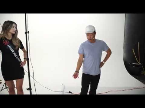 Miss World Canada Pageant Shoot With Lightbulb Adapter Kit | Part Two