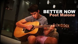 Post Malone Better Now Mellow Version Cover by James Bakian