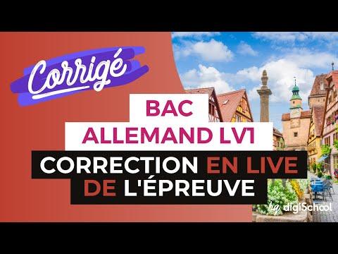Bac 2017  Corrigé d'Allemand LV1 séries ES, S et L