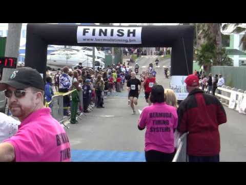 Finish Line Butterfield & Vallis 5K Bermuda February 5 2012