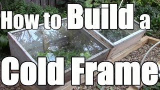 How to Build a Cold Frame to Extend Your Growing Season