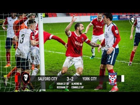 Salford City 3-2 York City - National League North 22/10