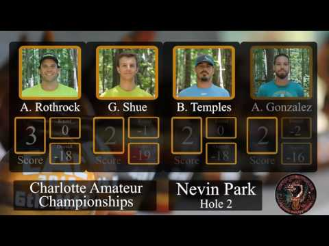 2016 Charlotte Amateur Championship Final Round Lead Card