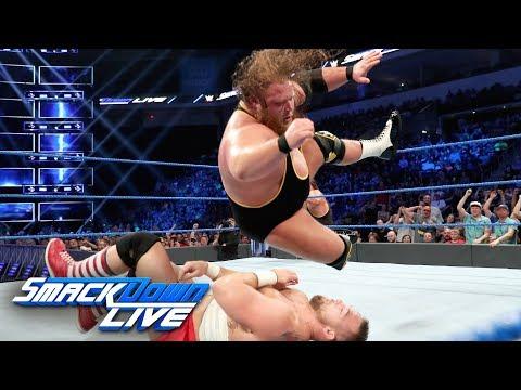 Heavy Machinery vs. The Revival: SmackDown LIVE, Aug. 20, 2019