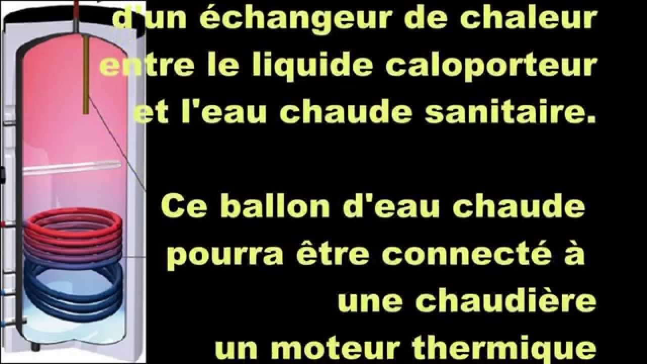faire un ballon changeur thermique avec un ballon lectrique youtube. Black Bedroom Furniture Sets. Home Design Ideas