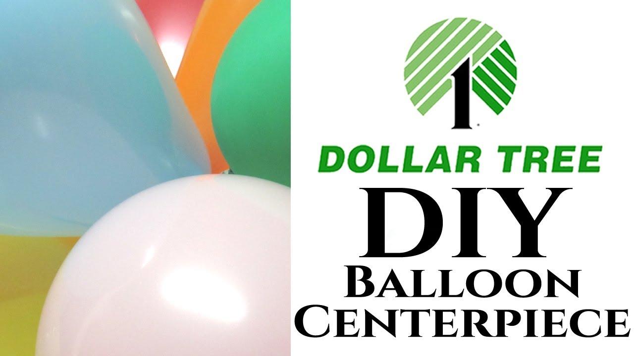 Dollar Tree Diy Balloon Centerpieces