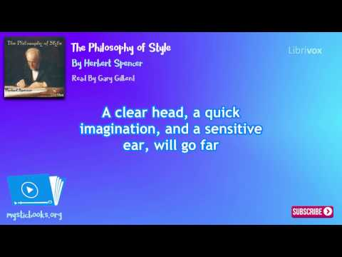 The Philosophy of Style - Writing & Linguistics